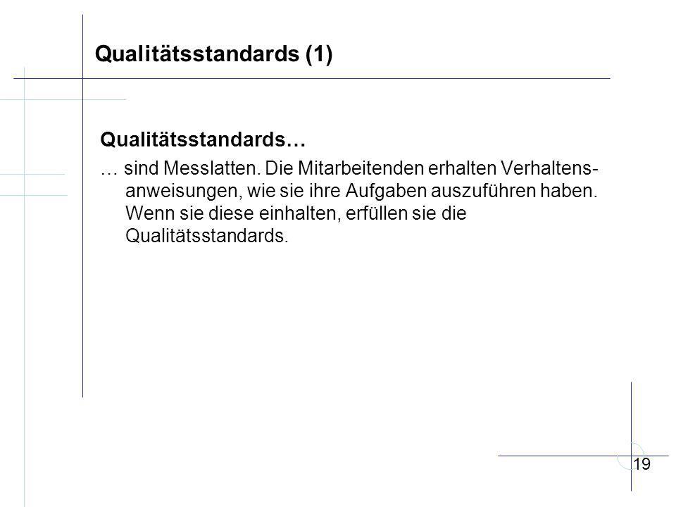 Qualitätsstandards (1)