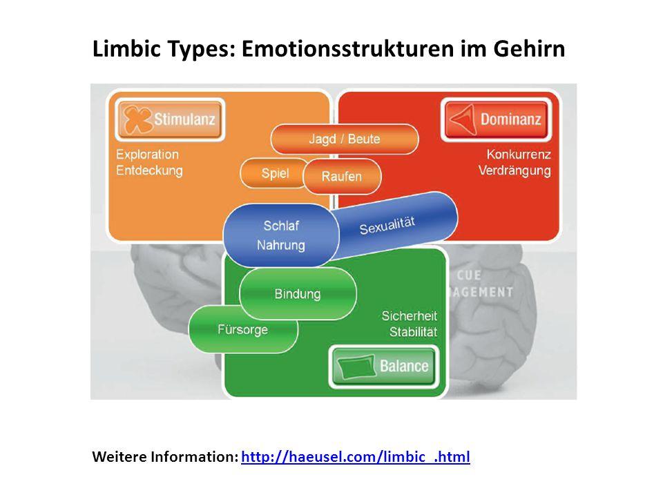 Limbic Types: Emotionsstrukturen im Gehirn