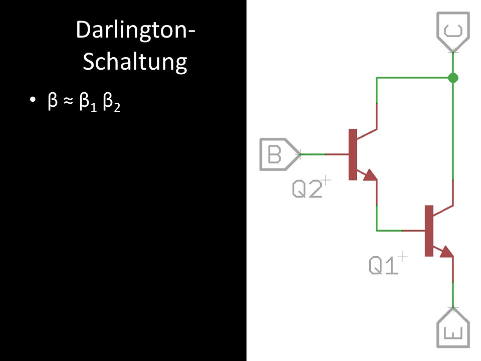 Darlington-Schaltung
