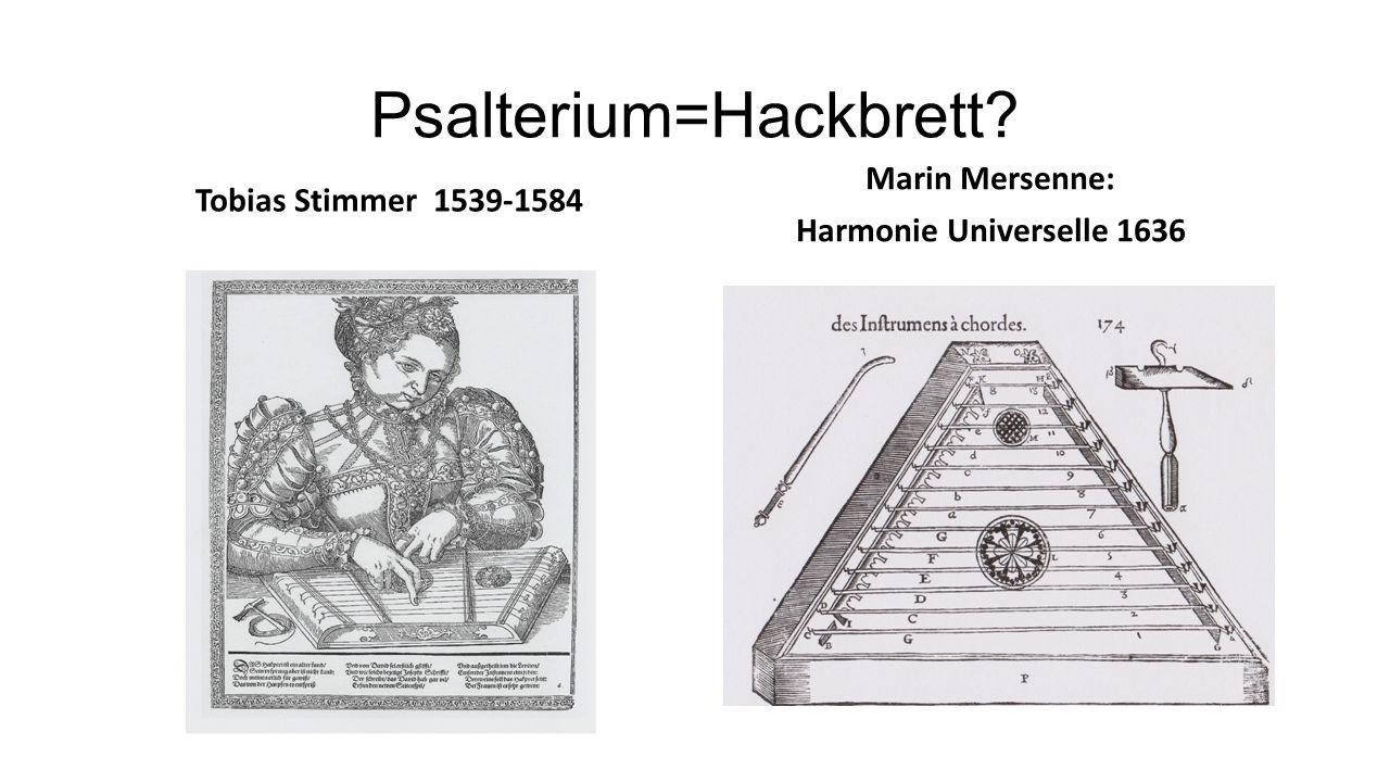 Psalterium=Hackbrett