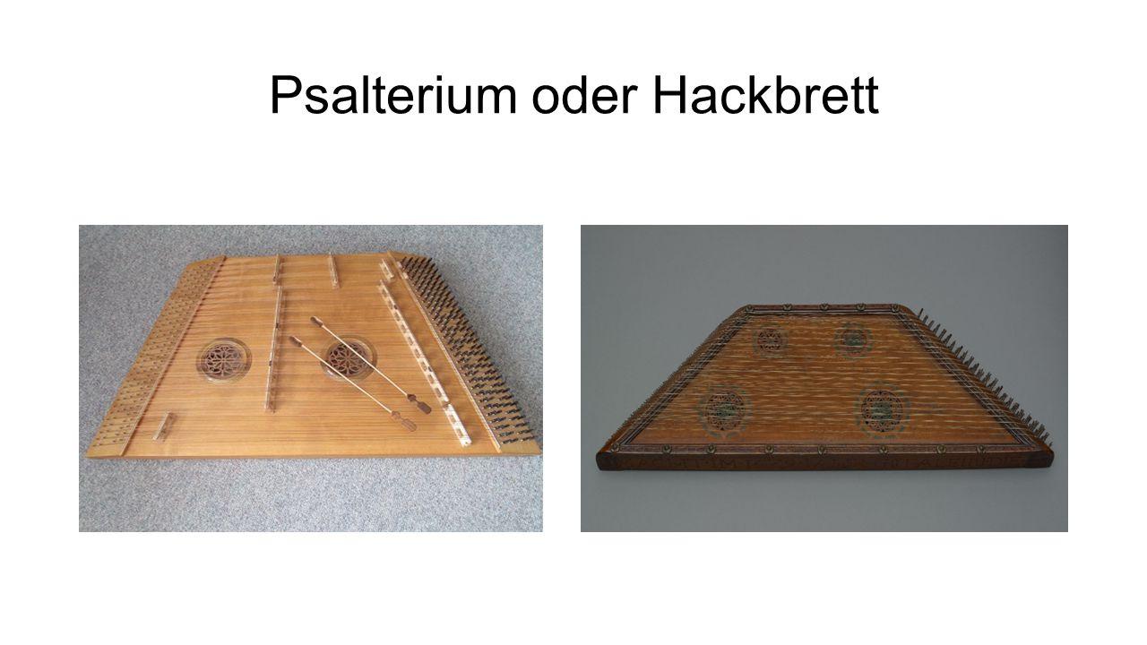 Psalterium oder Hackbrett