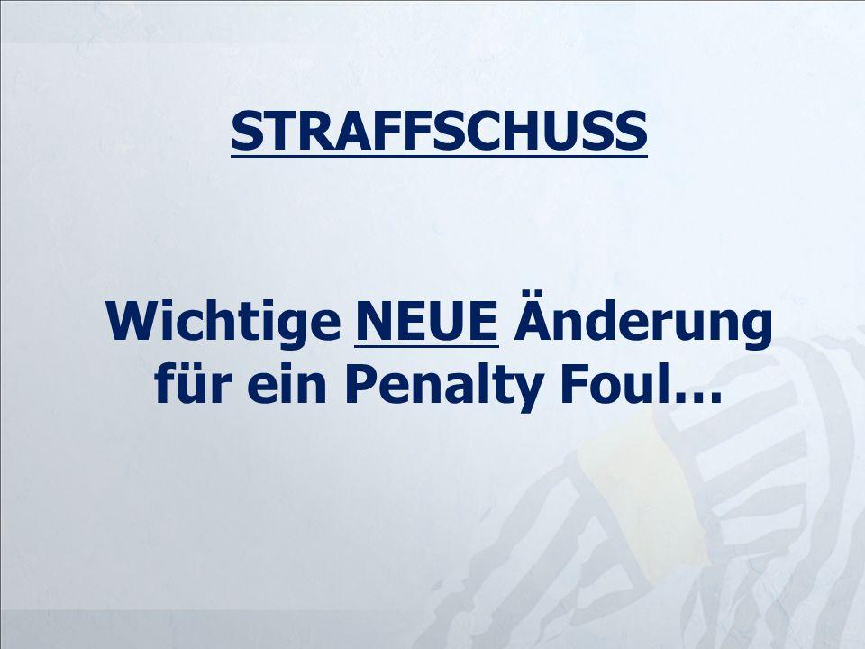 Wichtige NEUE Änderung für ein Penalty Foul…