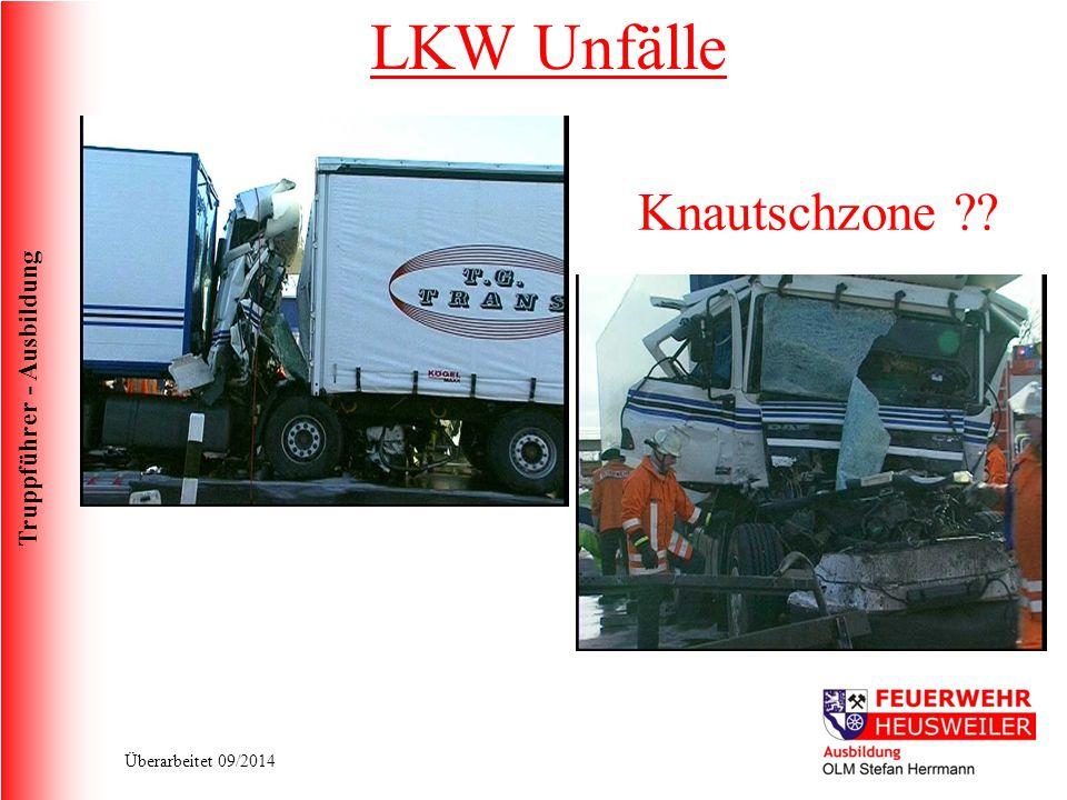 LKW Unfälle Knautschzone