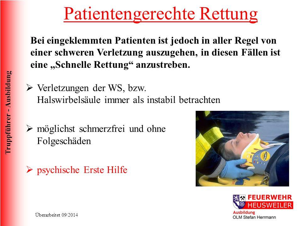 Patientengerechte Rettung