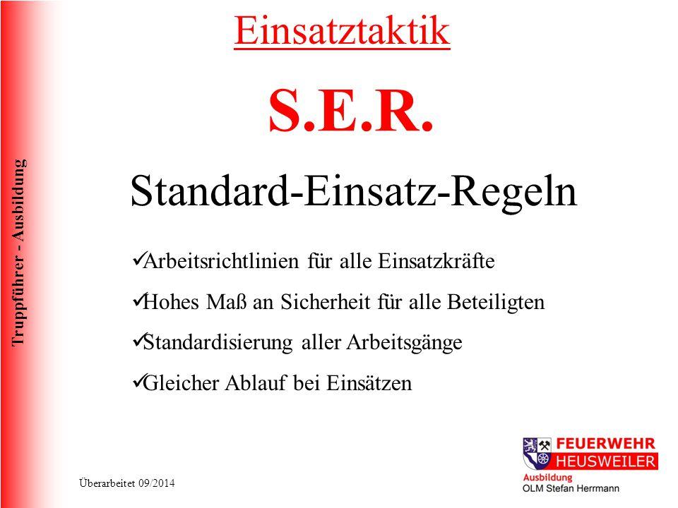 Standard-Einsatz-Regeln