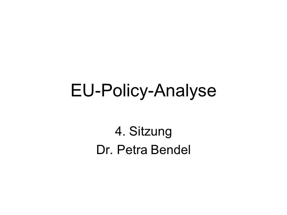 4. Sitzung Dr. Petra Bendel