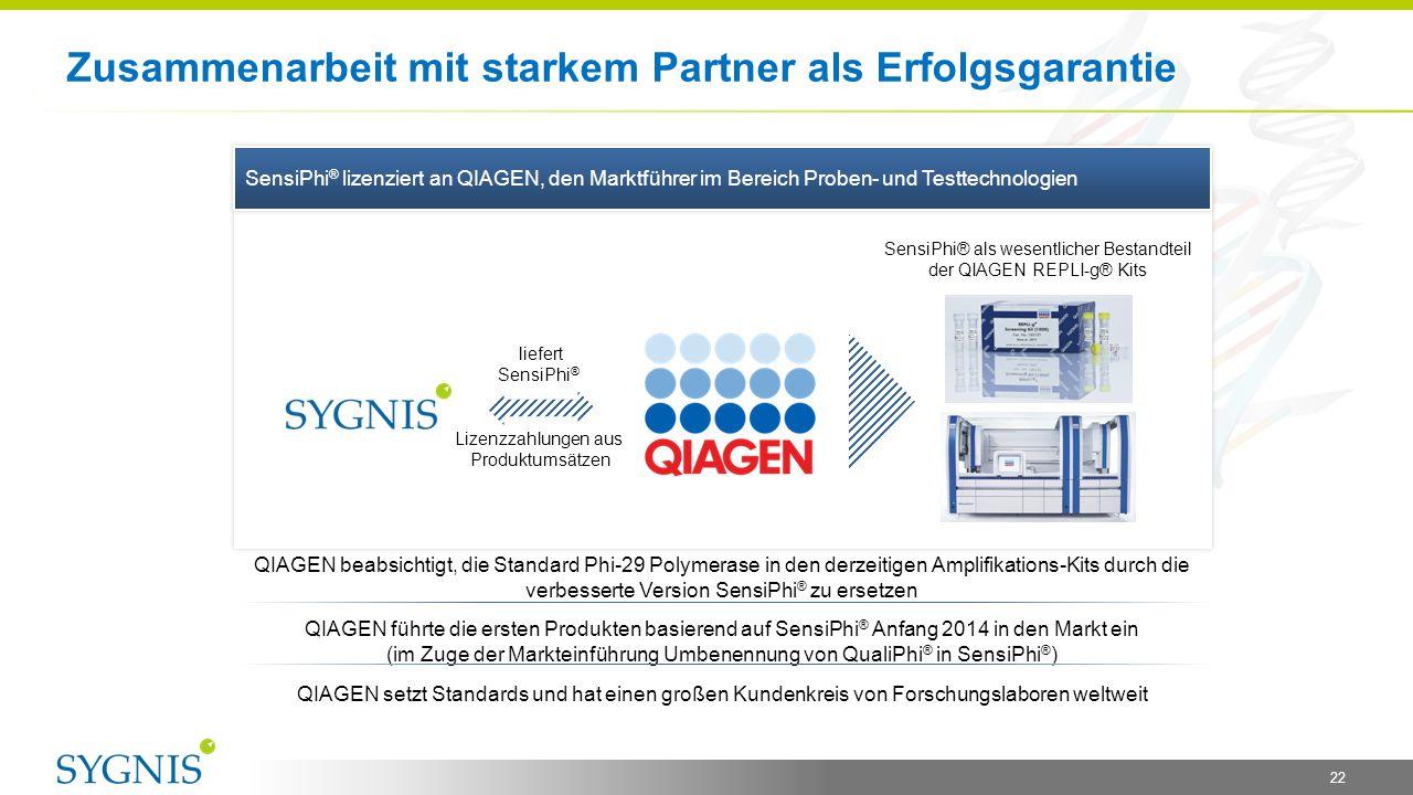 Zusammenarbeit mit starkem Partner als Erfolgsgarantie