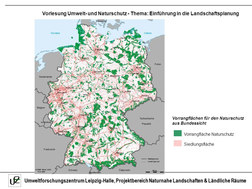 Vorrangflächen für den Naturschutz aus Bundessicht