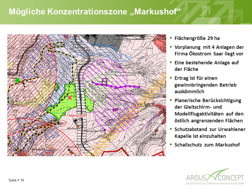 """Mögliche Konzentrationszone """"Markushof"""