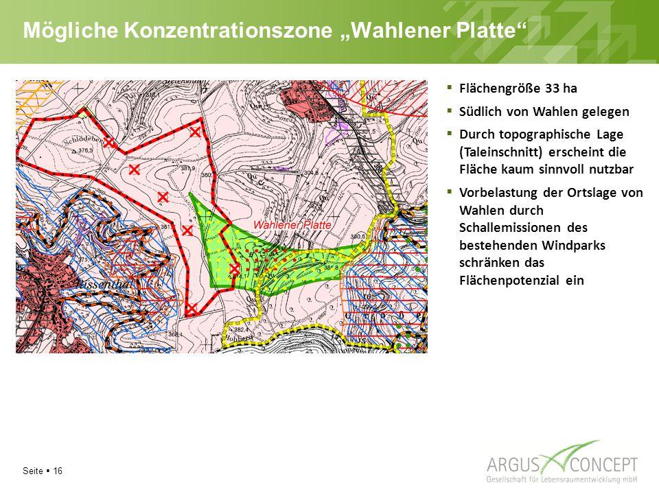 """Mögliche Konzentrationszone """"Wahlener Platte"""