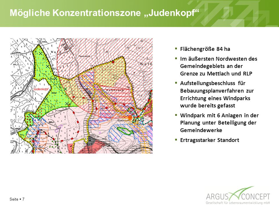 """Mögliche Konzentrationszone """"Judenkopf"""