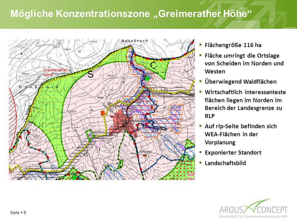 """Mögliche Konzentrationszone """"Greimerather Höhe"""