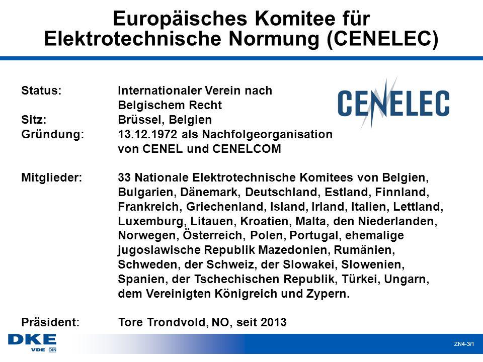 Europäisches Komitee für Elektrotechnische Normung (CENELEC)