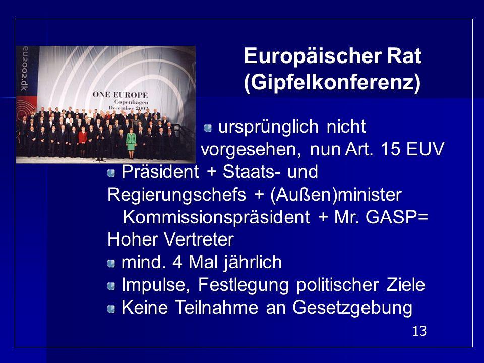 Europäischer Rat (Gipfelkonferenz)