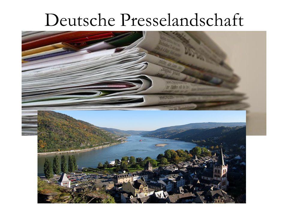 Deutsche Presselandschaft
