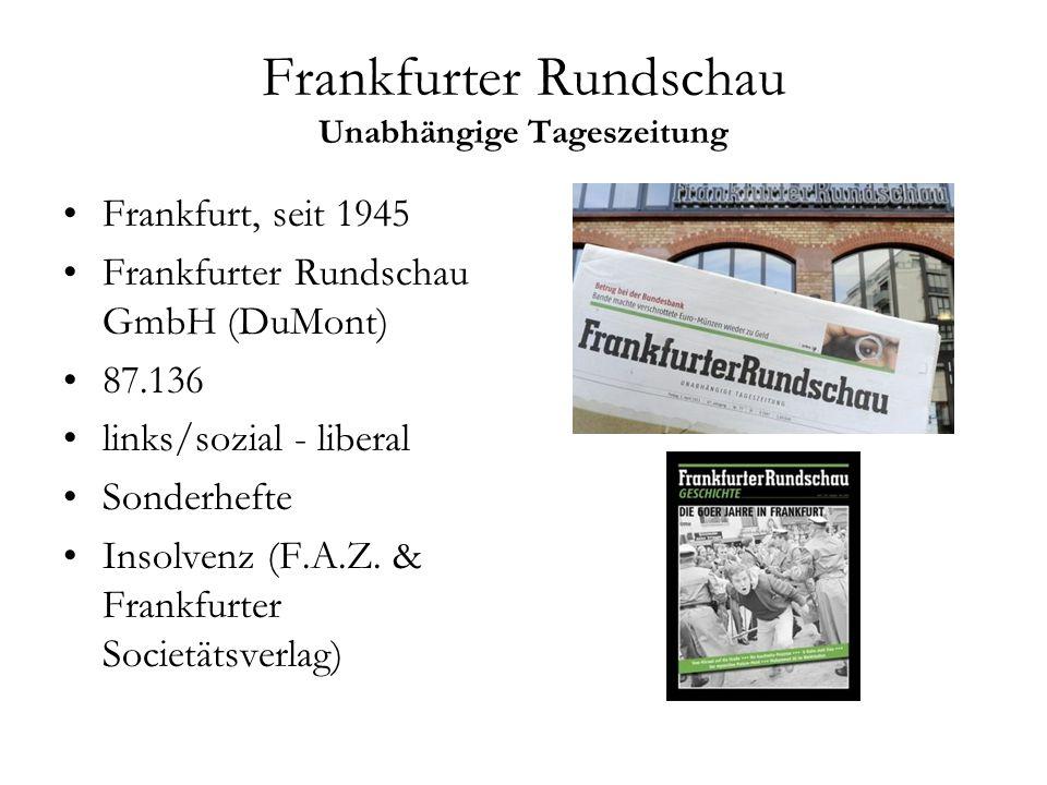 Frankfurter Rundschau Unabhängige Tageszeitung