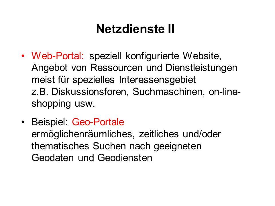 Netzdienste II