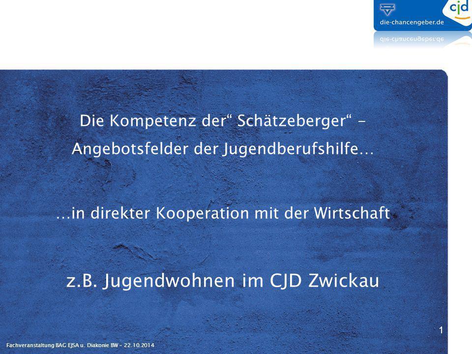 z.B. Jugendwohnen im CJD Zwickau