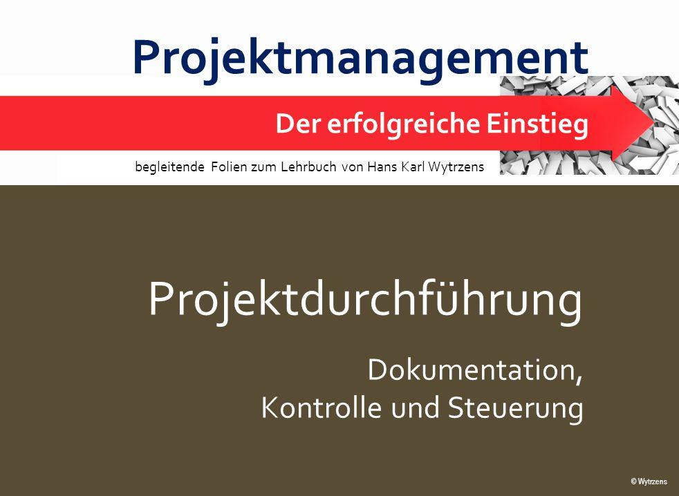 Projektmanagement Projektdurchführung