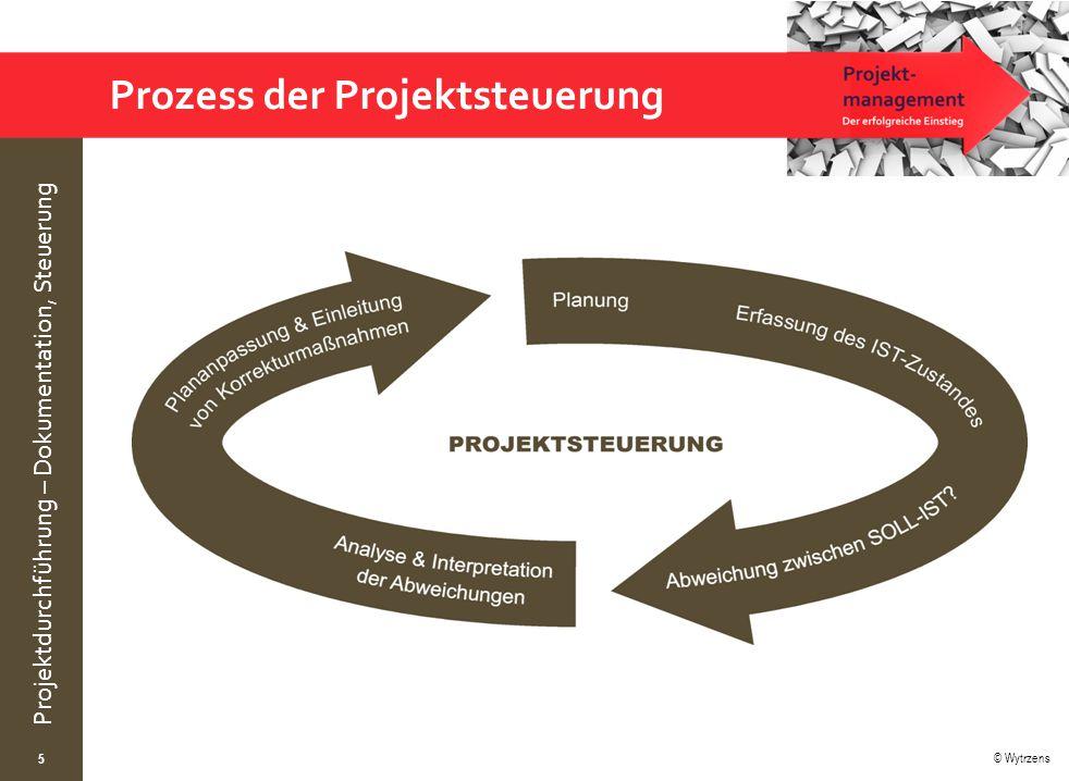 Prozess der Projektsteuerung