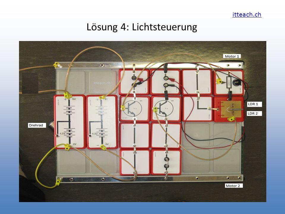 Lösung 4: Lichtsteuerung