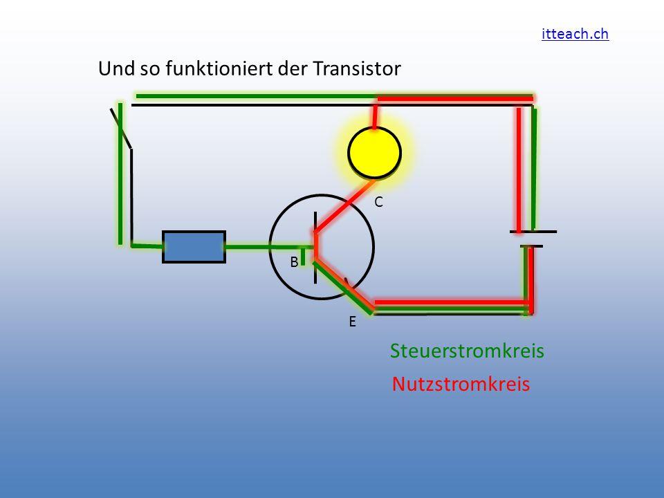 Und so funktioniert der Transistor