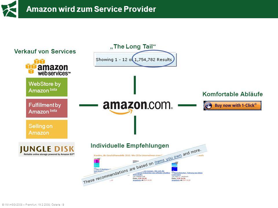 Amazon wird zum Service Provider