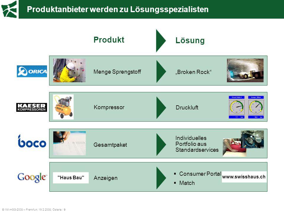 Produktanbieter werden zu Lösungsspezialisten