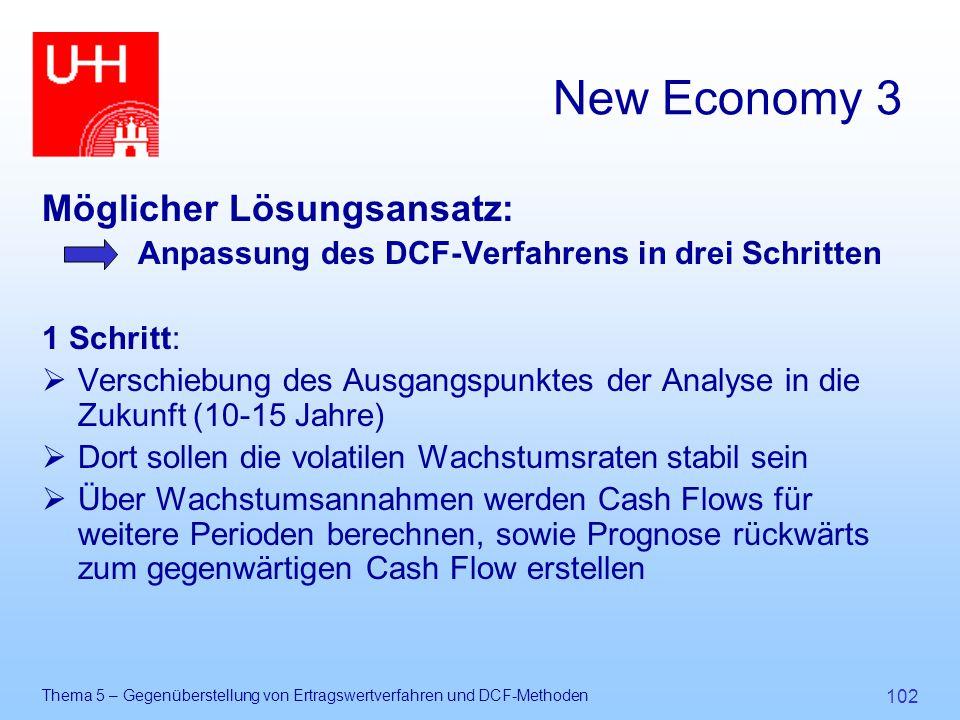 New Economy 3 Möglicher Lösungsansatz: