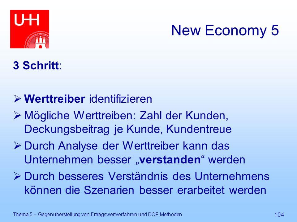 New Economy 5 3 Schritt: Werttreiber identifizieren