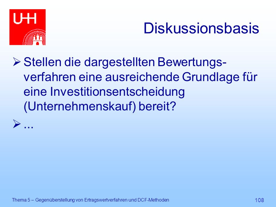Diskussionsbasis