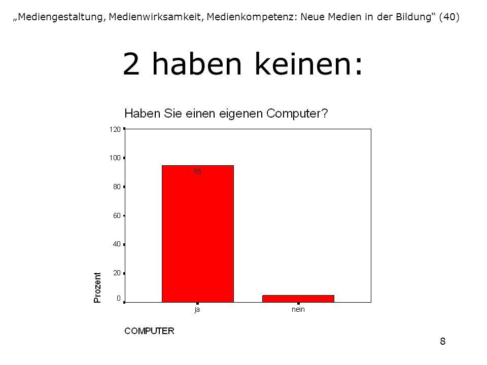 """""""Mediengestaltung, Medienwirksamkeit, Medienkompetenz: Neue Medien in der Bildung (40)"""