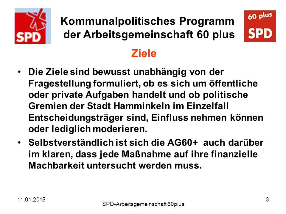 SPD-Arbeitsgemeinschaft 60plus