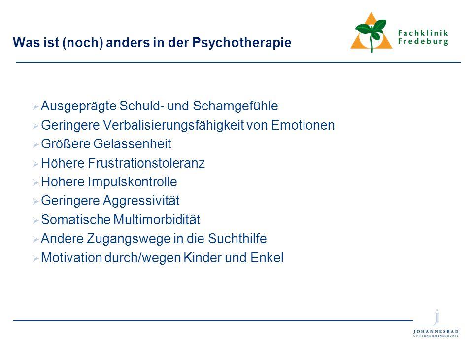 Was ist (noch) anders in der Psychotherapie