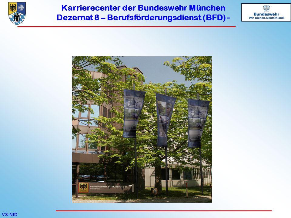 Karrierecenter der Bundeswehr München