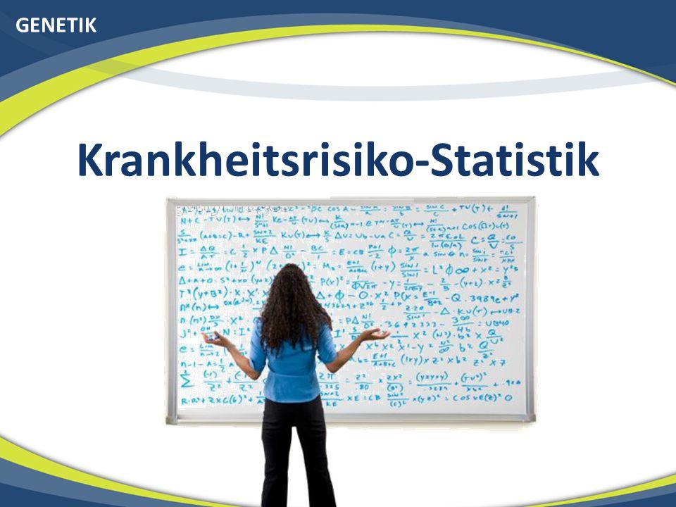 Krankheitsrisiko-Statistik