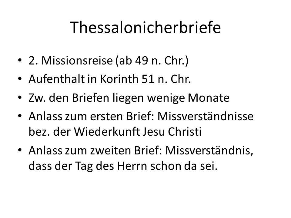 Thessalonicherbriefe