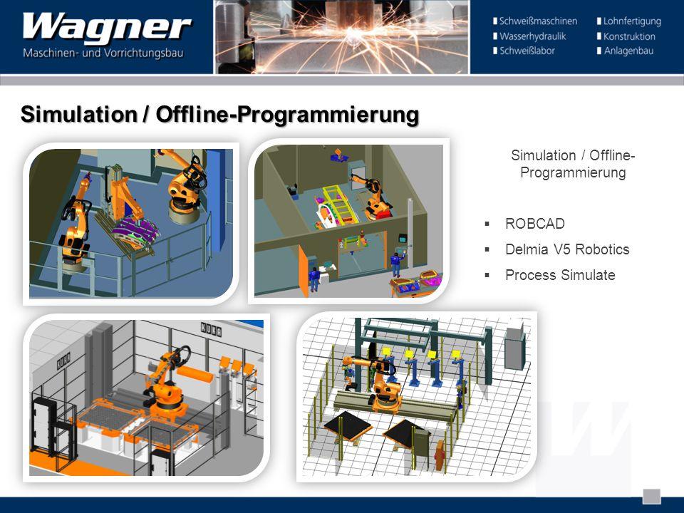 Simulation / Offline-Programmierung
