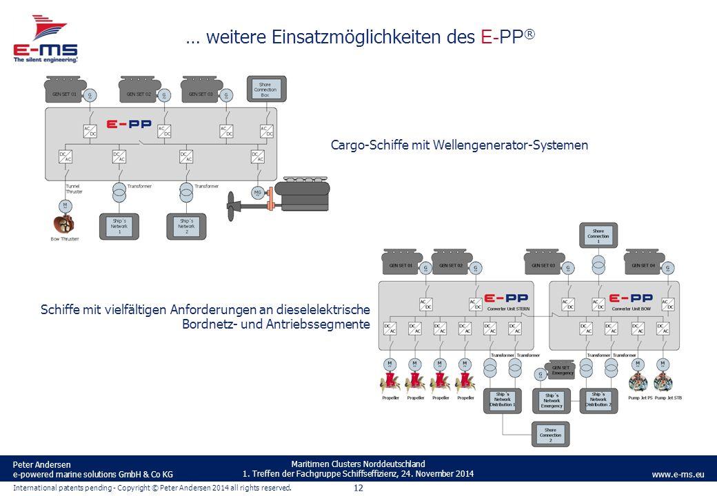 … weitere Einsatzmöglichkeiten des E-PP®