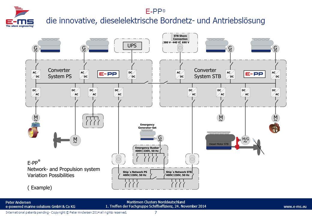 E-PP® die innovative, dieselelektrische Bordnetz- und Antriebslösung