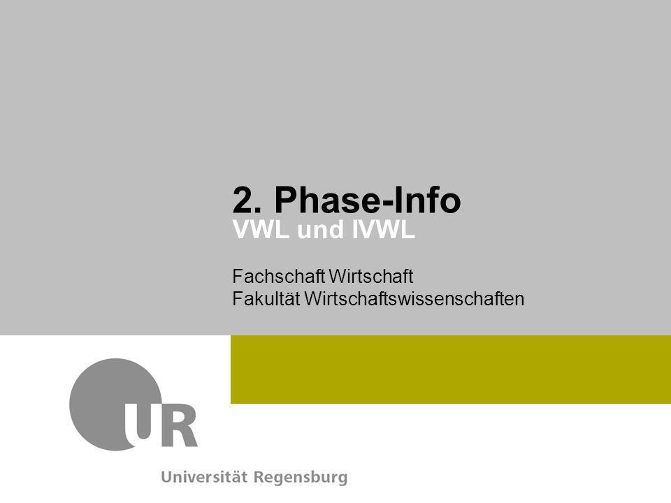 2. Phase-Info VWL und IVWL
