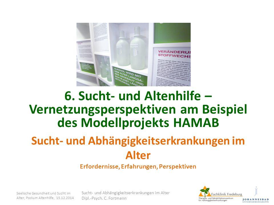 6. Sucht- und Altenhilfe – Vernetzungsperspektiven am Beispiel des Modellprojekts HAMAB