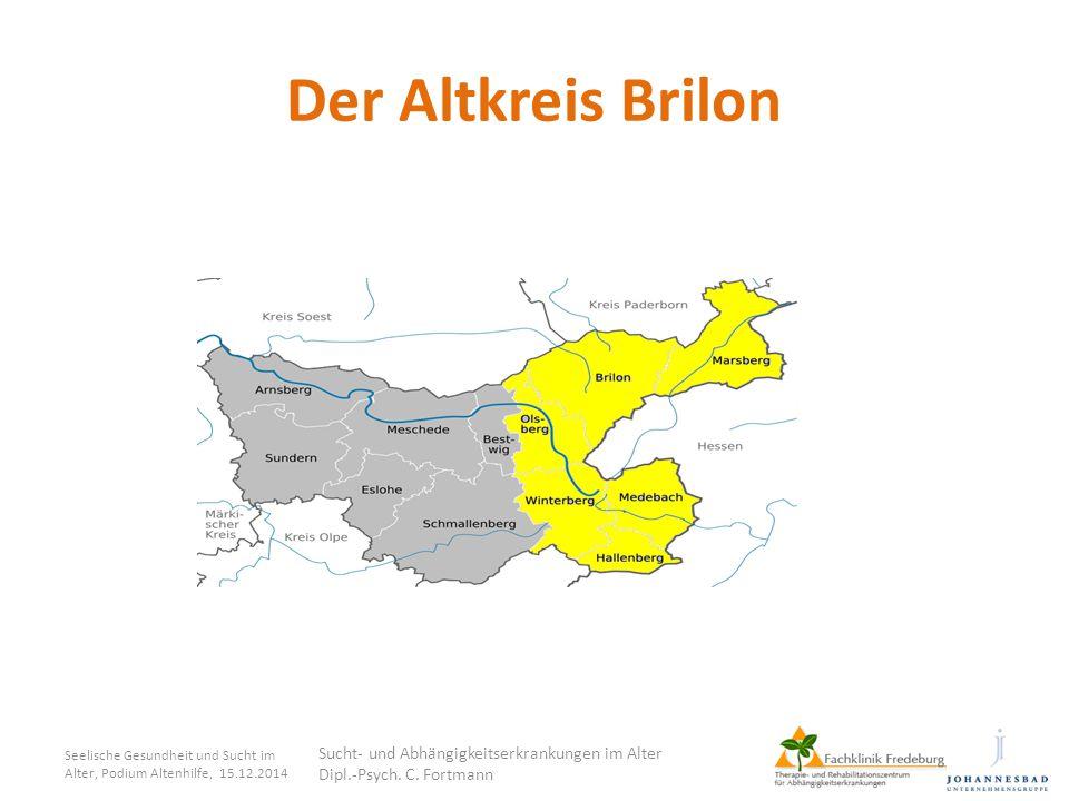 Der Altkreis Brilon Sucht- und Abhängigkeitserkrankungen im Alter