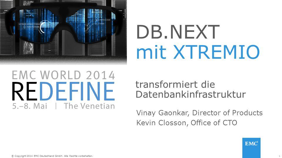 DB.NEXT mit XTREMIO transformiert die Datenbankinfrastruktur