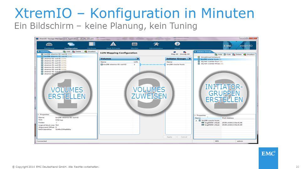 XtremIO – Konfiguration in Minuten