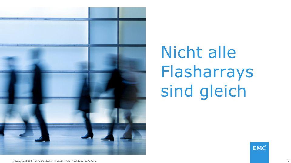 Nicht alle Flasharrays sind gleich