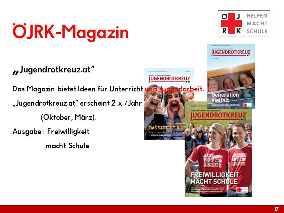 "ÖJRK-Magazin ""Jugendrotkreuz"