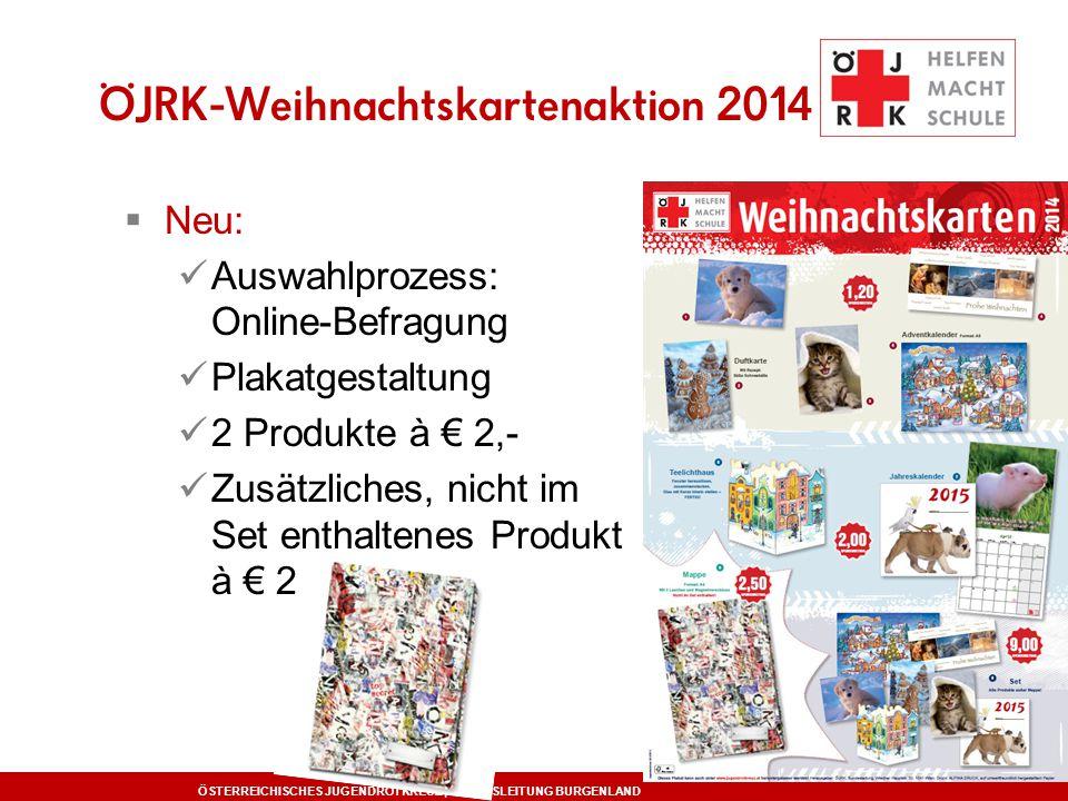 ÖJRK-Weihnachtskartenaktion 2014