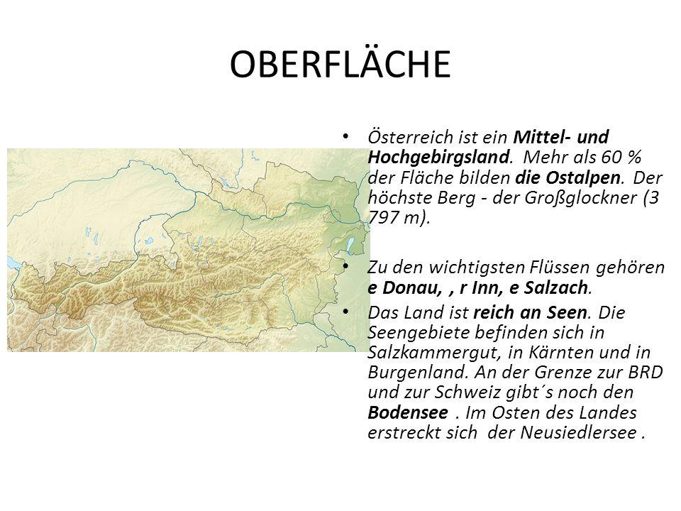 OBERFLÄCHE