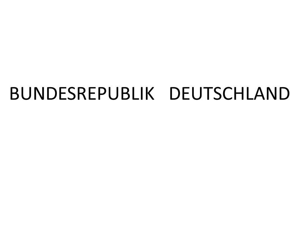 BUNDESREPUBLIK DEUTSCHLAND